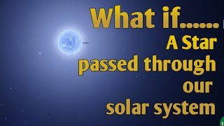 Download WHAT IF A STAR PASSED THROUGH OUR SOLAR SYSTEM | 5K Subscriber Special Video