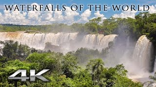 Download WORLD'S WATERFALLS in 4K (no music) 1 HR Nature Relaxation™ Signature Film in UHD Video