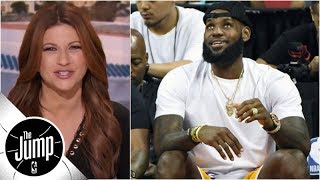 Download Rachel Nichols: LeBron having fun summer, but will season be able to match it? | The Jump | ESPN Video