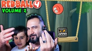 Download KIRMIZI TOP 4 VOLUME 2 BAŞLIYORUZ!| RED BALL 4 OYNUYORUZ Video