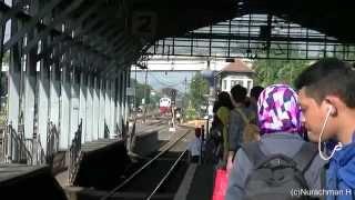 Download Asik naik Kereta api Bengawan dari stasiun Lempuyangan Video
