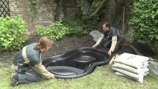 Download Installation Ubbink ready-made pond Video