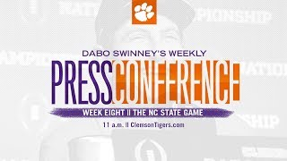 Download Dabo Swinney Press Conference || The NC State Game Video
