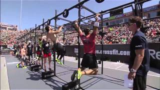 Download 2012 CrossFit Games - Bar Muscle-up/Chipper: Team, Heat 3 Video