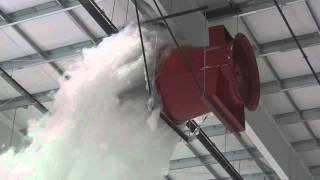Download Aircraft Hangar Foam Fire Suppression Test - Prince George.wmv Video