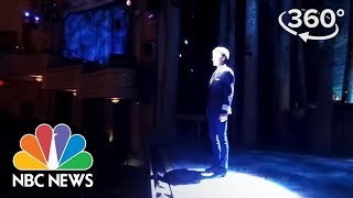 """Download 360 Video: On-Stage at Broadway's """"Come From Away"""" 