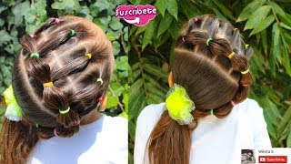 Download Peinado para niña / Easy hairstyle for school ❤ Video