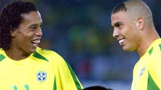Download Ronaldinho and Ronaldo Making History Against Germany Video