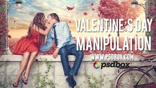 Download Valentines Day Manipulation 2014 (PSD BOX) Video