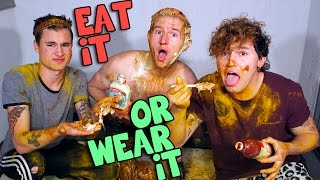 Download EAT IT OR WEAR IT CHALLENGE w/ Kian & Jc Video