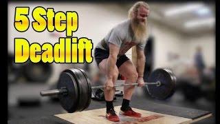 Download How To Deadlift: Starting Strength 5 Step Deadlift Video