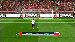 Download PORTUGAL vs CHILE | Penalty Shootout | PES 2017 Gameplay Video