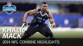 Download Khalil Mack (Buffalo, OLB) | 2014 NFL Combine Highlights Video