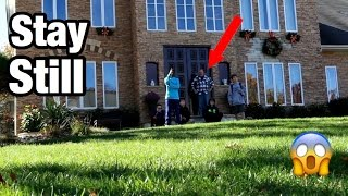 Download THE MANNEQUIN CHALLENGE ON STRANGERS DOOR STEP! PART 2 *SO FUNNY* Video