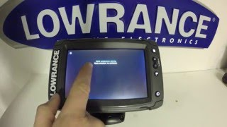 Download Lowrance Elite 7 Ti Reset and Screen Calibration Procedure Video