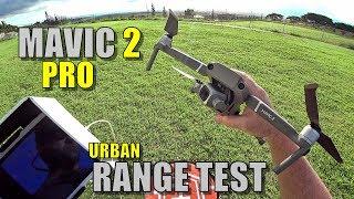 Download DJI Mavic 2 PRO Range Test - How Far Will It Go? (Light Urban) Video