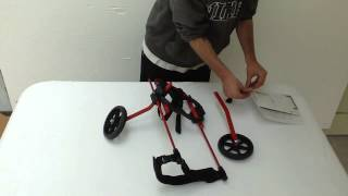 Download How to assemble your standard Two-Wheel K9 Cart Video