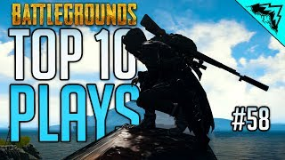 Download IMPOSSIBLE - TOP 10 PlayerUnknown's Battlegrounds Highlights & PUBG Plays (Bonus Plays 58) Video