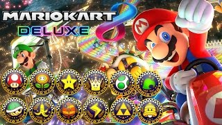 Download Mario Kart 8 Deluxe - All Tracks 200cc (Full Race Gameplay) Video