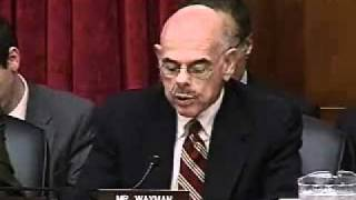 Download 3/9/11 House Hearing on Blocking FCC NN Order: 03 Waxman Opening Statement Video