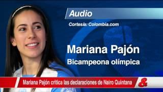 Download 'Nairo tiene que cuidar mucho sus palabras, :Mariana Pajón Video
