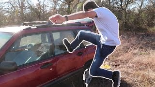 Download Can You Break a Car Window By Kicking It? Video