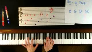 Download How to Play Try by Pink on Piano - Easy Video