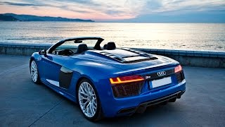Download 2017 Audi R8 V10 Spyder - FIRST DRIVE - Launch, exterior, interior, soundcheck, driving etc Video