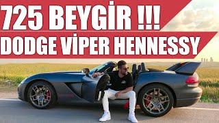 Download 725 Beygirlik Dodge Viper Hennessey | Türkiye'de Kullandık Video