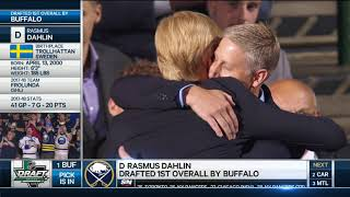 Download Rasmus Dahlin drafted first overall by Buffalo Sabres Video