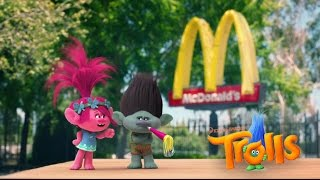 Download McDonalds Happy Meal Trolls Movie Toys Commercial 2016 Video