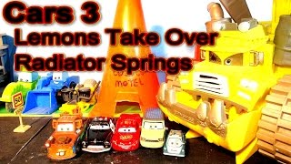 Download Pixar Cars 3 Lightning McQueen the Nightmare Continues, The Lemons Take Over The Town Video