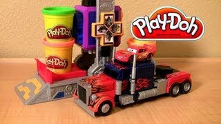 Download Play Doh Transformers Autobot Workshop Playset Video