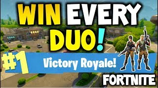 Download How to win every time : FORTNITE Battle Royale - DUO - EASY - Xbox One, Playstation 4 or PC Video
