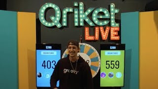 Download QriketLIVE Replay #538 - 5 Spins $200 Game Video