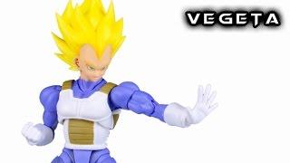 Download S.H. Figuarts SUPER SAIYAN VEGETA Dragon Ball Z Action Figure Review Video