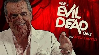 Download Bruce Campbell Takes IGN's Evil Dead Quiz Video