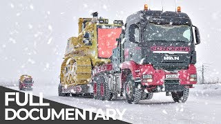 Download Most Dangerous Transports: Siberian Ice Road | Mega Transports | Free Documentary Video