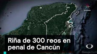 Download Riña de 300 reos en penal de Cancún - Penales - Denise Maerker 10 en punto - Video