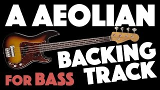 Download A Minor (Aeolian) Backing Track For Bass Video