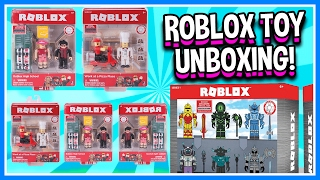 Download ROBLOX SENT ME A PACKAGE! | Roblox Toys Unboxing Blind Boxes | Roblox Toy Figures Opening & Review Video