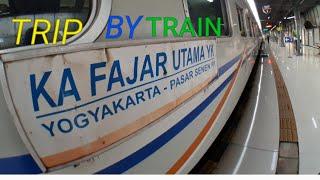 Download Trip Repot Naik Kereta Bisnis Fajar Utama YK ke Yogyakarta Video