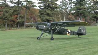 Download Fieseler Storch take-off Video
