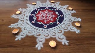Download Simple,Easy and Quick freehand Rangoli designs with colours/ Rangoli Designs by Shital Daga Video