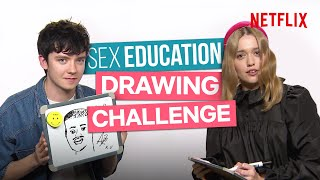 Download The Sex Education Cast Can't Draw For S**t Video