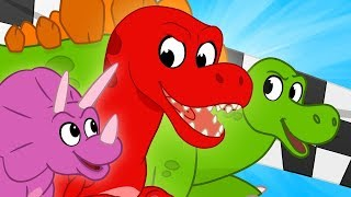Download Dinosaur Race - My Magic Pet Morphle | Cartoons For Kids | Mila and Morphle | Kids Videos Video
