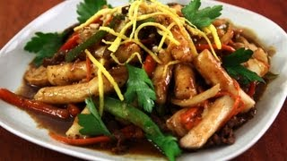 Download Korean Royal Court Stir Fried Rice Cakes (Gungjung-tteokbokki: 궁중떡볶이) Video