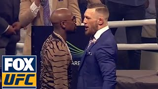 Download Conor McGregor vs. Floyd Mayweather Final FULL PRESS CONFERENCE | LONDON | UFC ON FOX Video