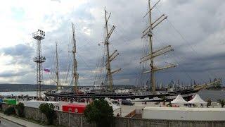 Download Barque ″Kruzenshtern″, port Varna, Video