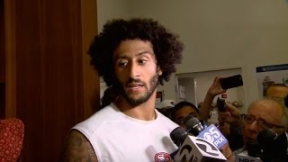 Download Colin Kaepernick Vows Not To Stand for National Anthem Even on Military Night Video
